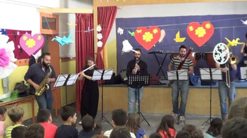 Παρουσίαση Οργάνων Ορχήστρας - 1ο 2ο Δημοτικό Πύλου - Σύνολο