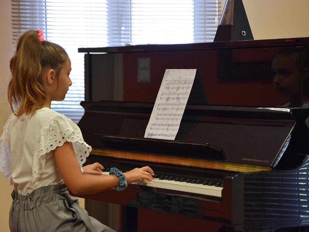Ωδείο Πύλου - Τομείς Σπουδών - Μαθήματα πιάνου